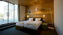 Delux erkélyes kétágyas szoba